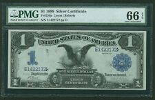 """1899  $1 SILVER CERTIFICATE BLACK EAGLE FR-226a """"UNCIRCULATED"""" CERTIFIED PMG-66"""