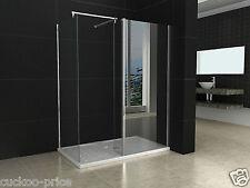 1200x900mm Walk in Shower Enclosure Door + Shower Tray + Trap Waste