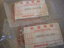 NOS Honda OEM Pedal Clip 74-02 XR200 XL125 MT250 75-80 CR250 28293-124-000 QTY2
