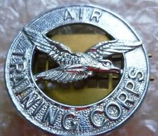 Badge- Air Training Corps Cap Badge (Chrome, Genuine*)