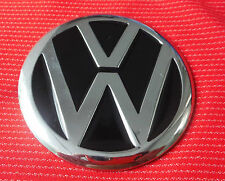 VW INITIAL CLASSIC CHROME BLACK SILVER CAR  BELT BUCKLE