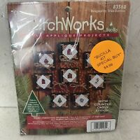 Vintage BucillaPatchworks Christmas Set of 8 Ornaments Counted Cross Stitch Kit