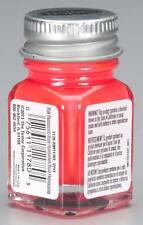 Testors 1/4 oz Fluorescent Pink Enamel Model Paint 1178Tt Tes1178