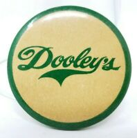 Dooley's Toffee Vodka Brand Vintage Collectible Pinback Button Toronto Ontario