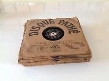 Lot 18 78 rpm PATHE 22 Cm, chansonnier VAGUET - VIGNEAU - GRESSE......