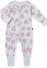NEW BNWT BONDS RARE Girls Zippy zippie pink spiral  Wondersuit - Newborn - 0000