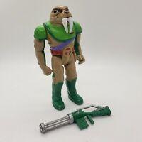 Vintage 1985 Thundercats Tuska Warrior Action Figure Walrus Original Rifle