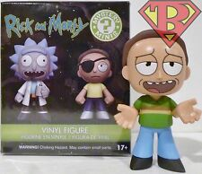 """JERRY SMITH Rick and Morty Mystery Minis 3"""" Vinyl Figure 1/12 Funko Target 2017"""