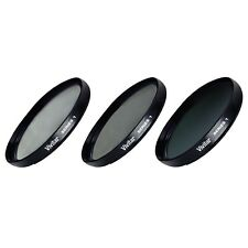 49mm UV CPL ND8 3 Piece Multi Coated Filter Kit for Sony NEX-3 NEX-5