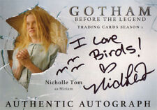 Gotham Season 1 Autograph Card NT Nicholle Tom as Miriam