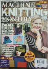 Machine Knitting Monthly UK Sep 2017 Packed Full Autumn Patterns FREE SHIPPING s