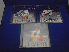 New Elements, Materials, Electricity & Magnetism for Risc PC A3000 Acorn RISC OS