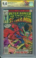 Spectacular Spider-Man #11 SIGNATURE SERIES! CHRIS CLAREMONT! CGC 9.4 NM WP!