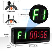 Programmierbare LED Intervall Zeitmesser Anzahl Für Sport halle Up/Down Stoppuhr