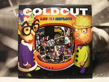 COLDCUT - LET US REPLAY ! 2 LP + INSERT M-/M- 1999 NINJA TUNE UK 1st PRESSING