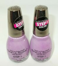 2 SINFUL COLORS Nail Color Polish  PRAGMATIC 1609 Step 1 Color