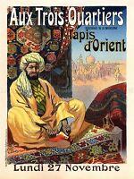 TAPESTRY ORIENTAL EASTERN FRANCE PARIS VINTAGE RETRO ADVERTISING POSTER 1521PYLV