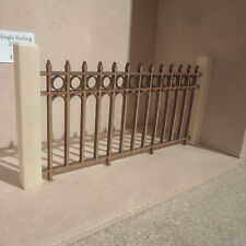 "Dolls House DIY 5"" long Railing   DHD308  Posts not included"