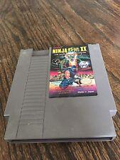 Ninja Gaiden 2 II Original Nintendo NES Game Cart NE3