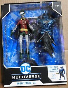 McFarlane DC Multiverse Dark Knights Metal Robin Earth-22 Closed Teeth
