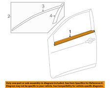 TOYOTA OEM Corolla-Door Window Sweep-Belt Molding Weatherstrip Left 7572002210