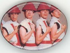 Devo Original 1980 Freedom Of Choice Tour Classic Oval Jumpsuit Badge Button Pin