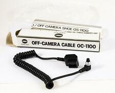 Minolta cable OC-1100 Flash Connecteurs