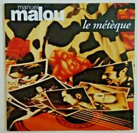 MANUEL MALOU reprend MOUSTAKI : LE METEQUE  (SALSA / RUMBA)  ♦ SINGLE CD ♦