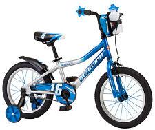 Schwinn Boy's Bike 16 Inch Single Speed Kids Bicycle Training Wheels Blue New