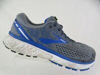 BROOKS Ghost 11 Grey Sz 10 4E EEEE Extra Wide Men Running Shoes
