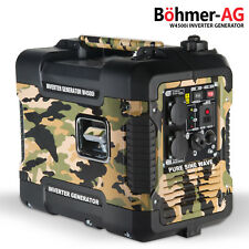 Petrol Inverter Generator ~ W4500i 2.0KW Portable Camping Quiet / Silent Power