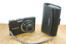 Panasonic LUMIX DMC-SZ7 Digital Camera w/ Case - 14.1MP, 10x Zoom, HD, OIS, 16GB