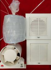"LOGIC- SEC12  100mm (4"" INLINE SHOWER FAN KIT) NON TIMER"