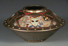 Eric Olson Pottery, UFO Sculpture, art pottery, arts and crafts
