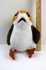 "New listing Disney Store Star Wars PORG PLUSH OWL Last Jedi Toy Bird Stuffed Animal 10"""