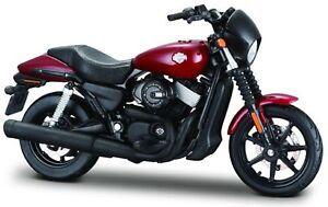 Harley Davidson Modèle, 2015 Rue 750 (36), Maisto Moto 1:18