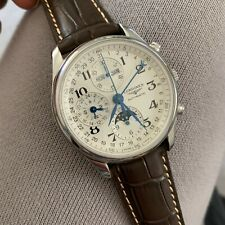 AUTH LONGINES Master Collection Moonphase Men's Watch Item L2.673.4.78.3