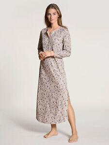 Calida Damen Big Shirt Nachthemd lang Sleep Shirt Nachtwäsche Baumwolle 36224