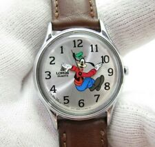 GOOFY Lorus Classic Backwards Dial & Hands Mens/Kids RARE CHARACTER WATCH 824