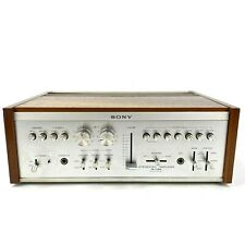 Vintage Sony TA-1150 Integrated Amplifier W/ Quad Option Tested Working w/ Case