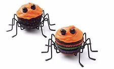 Spider Halloween Cupcake Holders 2 ct 94334 NEW