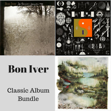 Bon Iver - Classic Vinyl LP Bundle - 3 x Vinyl LP's *NEW & SEALED*
