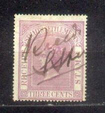 1867 Malaysia Malaya Straits Settlements Receipt Stamps CV Rm 50