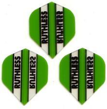 Ruthless Extra Strong Dart Flights - Green Transparent