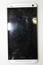 SPARES/REPAIRS HTC One 32GB Silver (T-Mobile) PN07130 Smartphone Cracked Screen