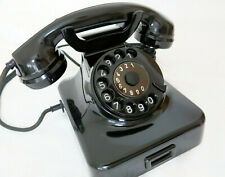 Mix&Genest Telefon w48 Telephone Old Bakelit Post Bauj.1951 Antik 100%Funktion