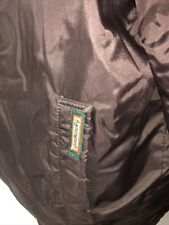 Vintage Remington Outdoor Clothing Brown Nylon Jacket Men's Large Full Zip