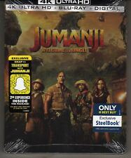 JUMANJI: WELCOME TO THE JUNGLE 4K ULTRA / BLU RAY / DIGITAL BEST BUY BRAND NEW