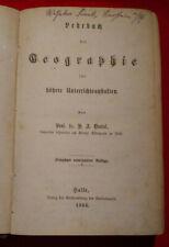 Lehrbuch der Geographie für höhere Unterrichtsanstalten von 1866