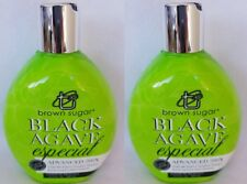 2 Brown Sugar Black Agave Especial Tanning Lotion Advanced Bronzers Tan INC